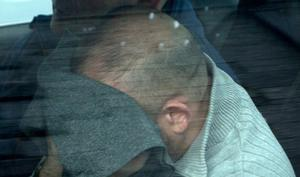 Gerard 'Gerry' Lynch photographed at Newcastlewest district court where he was charged with murder. Photograph Liam Burke Press 22