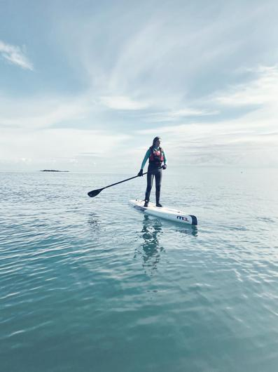 Jennifer Greenlees is planning a solo paddle board from Bangor to Dublin to raise funds for the RNLI