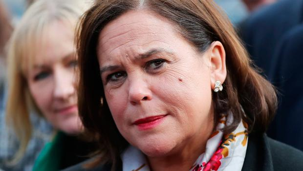 """Sinn Féin leader Mary Lou McDonald has criticised what she described as the """"old boys' club of Fianna Fáil and Fine Gael"""" as they both refuse to enter government talks with her party. Photo: Niall Carson/PA Wire"""