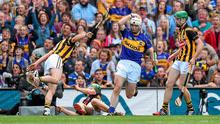 Gearóid Ryan, Tipperary, reacts to a missed goal opportunity. GAA Hurling All Ireland Senior Championship Final, Kilkenny v Tipperary. Croke Park, Dublin. Picture credit: Brendan Moran / SPORTSFILE