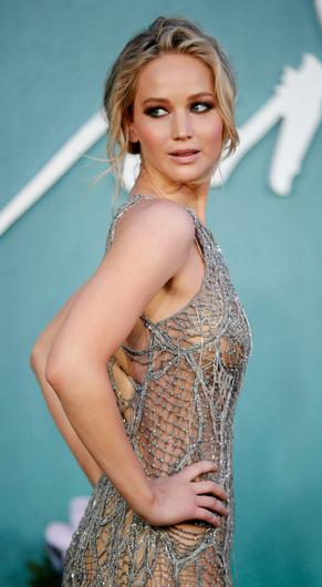 Celebrities like Bradley Cooper, Jennifer Lawrence (pictured) and Michael B Jordan have 'outed' themselves as people who still live with their parents