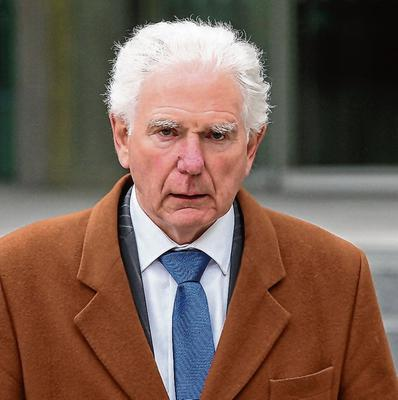Appeared in court: John Mulholland (pictured), John Whyte, Ciara Kelleher and Paul Lavery are all charged with offences alleged to have taken place at Irish investment firm Custom House Capital. Photo: Collins Courts