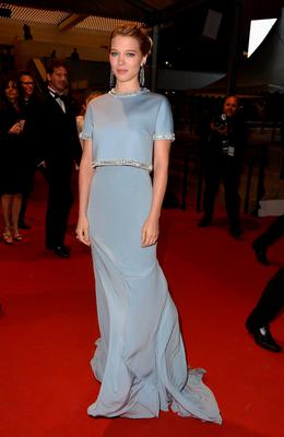 """Lea Seydoux attends the Premiere of """"The Lobster"""" during the 68th annual Cannes Film Festival"""