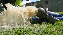 Inspectors responded to a report of pollution in the Altagoan River at Gortnaskey Road, Draperstown. Image PA