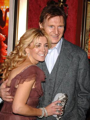 Liam Neeson's wife Natasha Richardson died after a freak ski accident in 2009