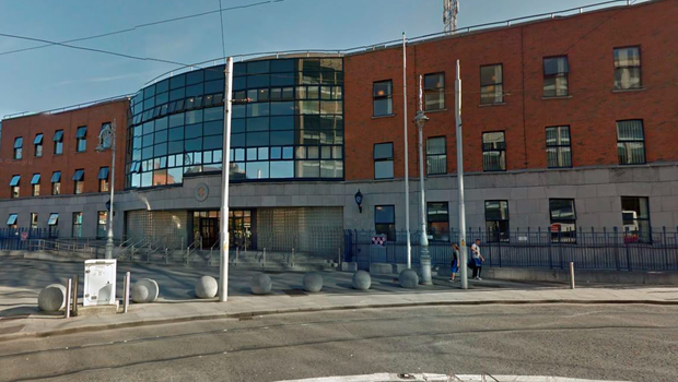 The man is being held at Store Street Garda station. Picture: Google Maps