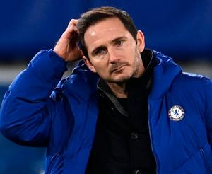 Buying time: Frank Lampard made a plea for patience after the defeat to Manchester City on Sunday. Photo: PA