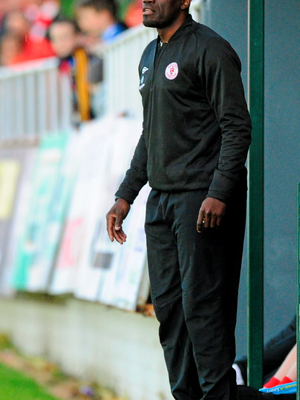 Sligo Rovers caretaker manager Joseph N'Do.