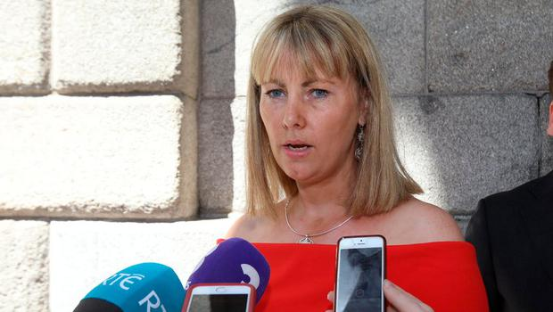 Court victory: Emma Mhic Mhathúna won a €7.5m settlement, but later died from her illness. Photo: Collins Courts