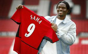 Saha's time at Old Trafford was marred by injuries after his arrival in 2004.