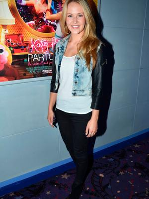 Aoibhin Garrihy at the Irish Premiere of 'Katy Perry Part of Me 3D' in 2012