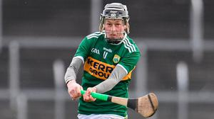 """Kerry's Shane Conway was dubbed """"the Messi of Hurling"""" by his manager at UCC after this year's Fitzgibbon Cup success. Photo: Sam Barnes/Sportsfile"""