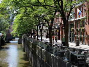 The canal in Manchester