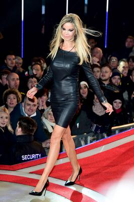 Alicia Douvall entering the Celebrity Big Brother house at the start of the latest series of the Channel 5 programme at Elstree Studios, Borehamwood. PRESS ASSOCIATION Photo. Picture date: Wednesday January 7, 2015. Photo credit should read: Ian West/PA Wire