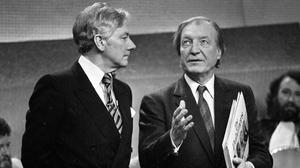 Gay Byrne and Charles J Haughey. Photo: Independent Newspapers Ireland/NLI Collection