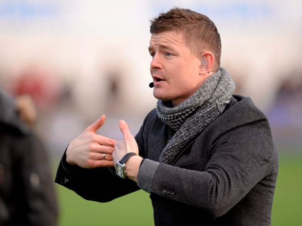 """Brian O'Driscoll: """"You talk about a 23-man game and it absolutely is in terms of starters and finishers. But now it is actually about having a 35-40-man squad. Photo: Sportsfile"""