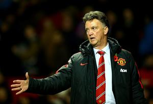 Reporters covering Manchester United have already learnt that Louis van Gaal likes to personalise questions he gets. Photo: Richard Heathcote/Getty Images