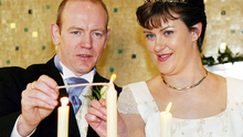 Pearse McAuley and Pauline Tully