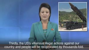 North Korea threaten United States following UN Sanctions