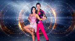 Lottie Ryan with her Dancing with the Stars pro dance partner Pasquale La Rocca