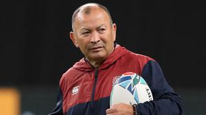 'England boss Eddie Jones might not be everyone's idea of the perfect head coach but he's thrived within the heat of a World Cup in the past with Australia, South Africa and Japan.' Photo: Reuters/Peter Cziborra
