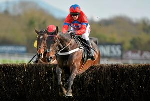 Sprinter Sacre, with Barry Geraghty up