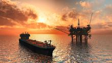 Supply and demand: An off-shore oil well – global demand has slumped in the wake of the Covid-19 outbreak. Stock