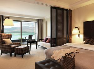 A Lakeview Room at The Europe Hotel