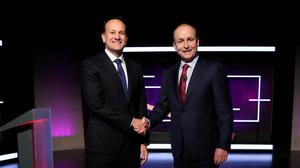 DILEMMA: Big risks for all who preside over the post-Covid-19 period in government. Leo Varadkar and Micheal Martin