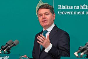 Finance Minister Paschal Donohoe. Picture: PA