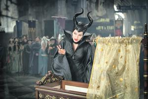 Angelina Jolie as Maleficent in this year's Disney film of the same name.