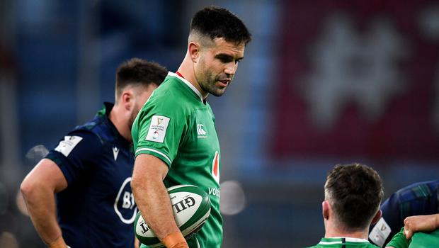 Conor Murray is expecting a tough challenge when Grand Slam champions Wales visit the Aviva Stadium on Saturday. Photo by Seb Daly/Sportsfile