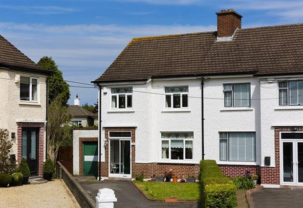 No 10 Braemor Grove in Churchtown, Dublin is a 90sqm house with three bedrooms and one bathroom, going for €550,000.