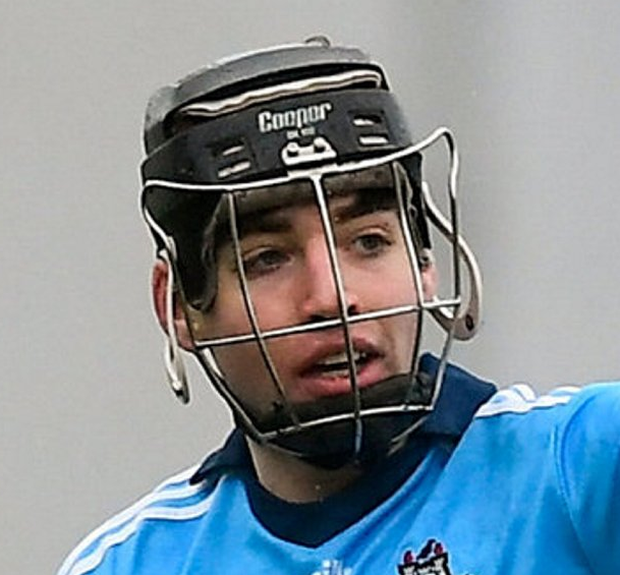 Dublin senior Burke ended the opening period with 0-6 to his name. Photo: David Fitzgerald/Sportsfile