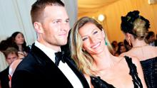 "Tom Brady (L) and Gisele Bundchen attend the ""Charles James: Beyond Fashion"" Costume Institute Gala at the Metropolitan Museum of Art on May 5, 2014 in New York City.  (Photo by Mike Coppola/Getty Images)"