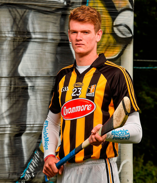 After signing three months ago the 19-year-old will begin his professional journey with St Kilda, but he could easily have been in Nowlan Park leading Rower-Inistioge's charge for Kilkenny SHC honours. Picture credit: Paul Mohan / SPORTSFILE