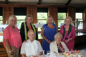 James and Margaret Hurley at Margaret's 90th birthday with their four children Marjorie Ahern, Victoire Fitzpatrick, Breda Hurley and Anne Corrigan.