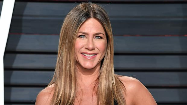Jennifer Aniston hosted a mini Friends reunion during the 72nd Primetime Emmy Awards (PA)