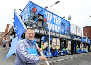 Liam Gifford outside The Bridge Tavern. Picture: Gerry Mooney