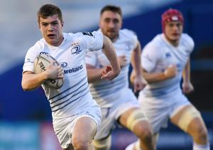 Fresh from his try-scoring performance in last week's win over Castres, Luke McGrath captains the side and partners Ross Byrne at half-back.