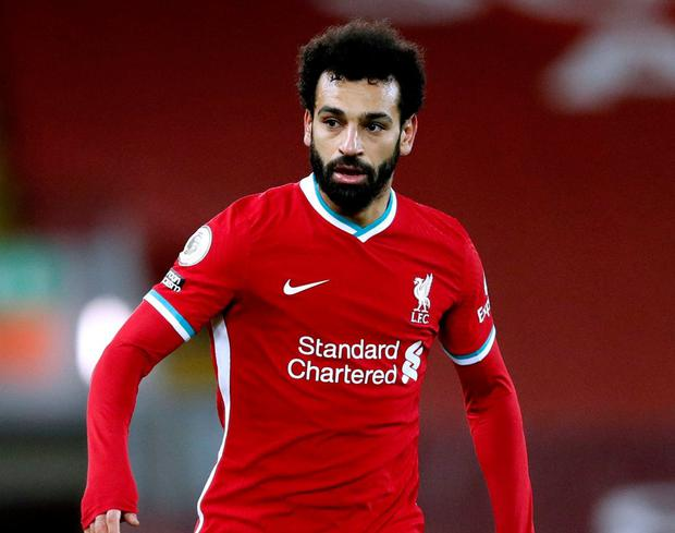 Liverpool's Mohamed Salah. Photo: PA