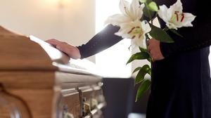 Funeral costs are not a priority for most, a survey reveals. Stock picture
