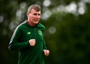 Stephen Kenny's Ireland side could take on Slovakia in their Euro 2020 playoff on October 7. Photo by Ben McShane/Sportsfile