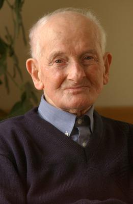 Mr Luke Dolan pictured just after his 102nd birthday