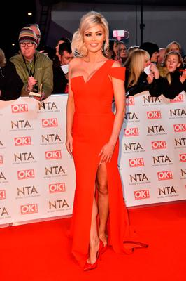 Chloe Sims attending the National Television Awards 2017 at the O2, London. PRESS ASSOCIATION Photo. Picture date: Wednesday January 25, 2017. See PA story SHOWBIZ NTAs. Photo credit should read: Matt Crossick/PA Wire