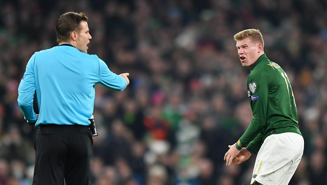 'I'm not expecting calls off any of them' - McClean stands by comments on Ireland team-mates