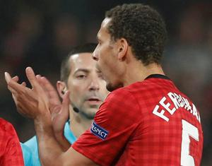 Manchester United's Rio Ferdinand. Phot: REUTERS/Phil Noble