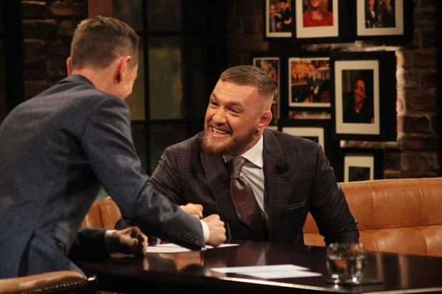 McGregor apologised on the Late Late Show for using a homophobic slur