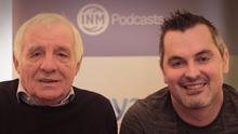 Karl Henry with this weeks guest Eamon Dunphy