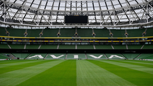 'The Aviva Stadium is likely to be Irish rugby's base for the first five weeks at the very least, with Leinster due to host Saracens in the Champions Cup quarter-final on the weekend of September 19.' Photo: Sportsfile